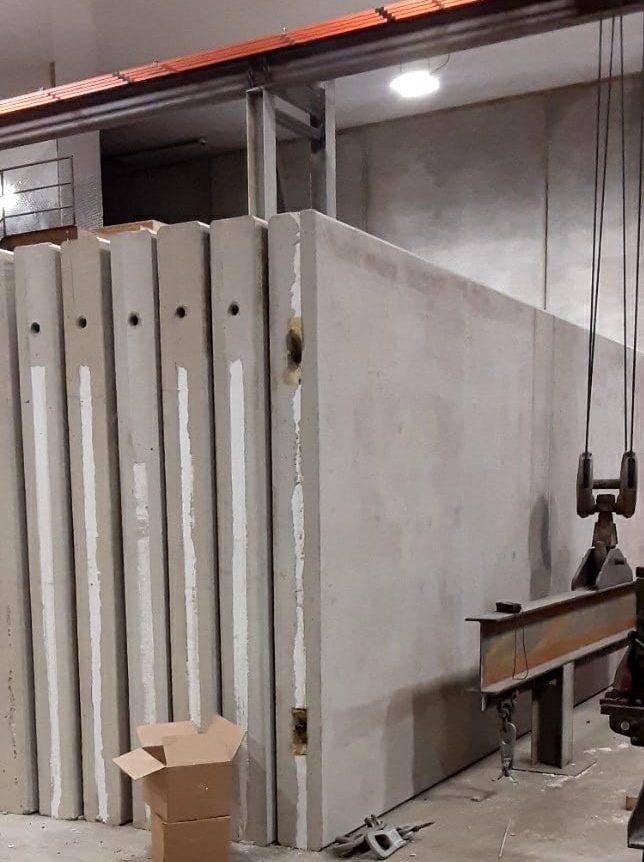 Precast insulated sandwich panels manufactured in alberta